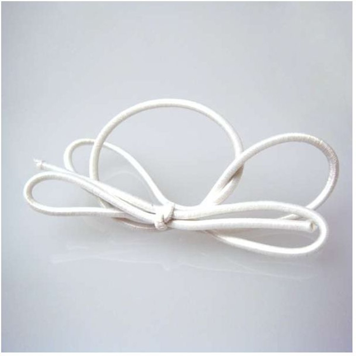Stretch Loop 20cm Solid White (50 pcs) [8SW]